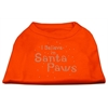 Mirage Pet Products I Believe in Santa Paws Shirt Orange XL (16)