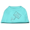 Mirage Pet Products Santa Stop Here Shirts Aqua XS (8)