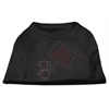 Mirage Pet Products Santa Stop Here Shirts Black XS (8)