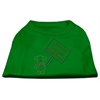 Mirage Pet Products Santa Stop Here Shirts Emerald Green XS (8)