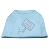 Mirage Pet Products Santa Stop Here Shirts Baby Blue XS (8)