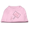 Mirage Pet Products Santa Stop Here Shirts Light Pink XL (16)