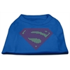 Mirage Pet Products Super! Rhinestone Shirts Blue XXL (18)