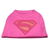 Mirage Pet Products Super! Rhinestone Shirts Bright Pink XXXL(20)