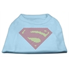 Mirage Pet Products Super! Rhinestone Shirts Baby Blue XXL (18)