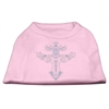 Mirage Pet Products Warrior's Cross Studded Shirt Light Pink XXXL(20)