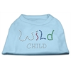 Mirage Pet Products Wild Child Rhinestone Shirts Baby Blue XS (8)