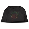 Mirage Pet Products Christmas Wreath Rhinestone Shirt Black S (10)