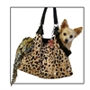 Mirage Pet Products Tan with Animal Foil RunAround Pet Carrier Tote