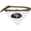 Mirage Pet Products San Francisco 49ers Bandana Large
