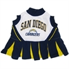 Mirage Pet Products San Diego Chargers Cheer Leading MD