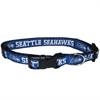 Mirage Pet Products Seattle Seahawks Collar Large