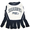 Mirage Pet Products Seattle Seahawks Cheer Leading SM