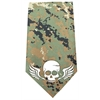 Mirage Pet Products Skull Wings Screen Print Bandana Digital Camo