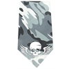Mirage Pet Products Skull Wings Screen Print Bandana Grey Camo
