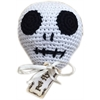 Mirage Pet Products Knit Knacks Skully the skull Organic Cotton Small Dog Toy