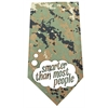 Mirage Pet Products Smarter than Most People Screen Print Bandana Digital Camo