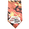 Mirage Pet Products Smarter than Most People Screen Print Bandana Orange Camo