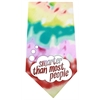 Mirage Pet Products Smarter than Most People Screen Print Bandana Tie Dye