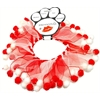 Mirage Pet Products Candy Cane Fuzzy Wuzzy Smoocher  Small .