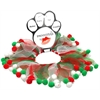 Mirage Pet Products Christmas Fuzzy Wuzzy Smoocher  Small .