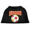 Mirage Pet Products Spain Soccer Screen Print Shirt Black XXXL (20)