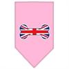 Mirage Pet Products Bone Flag UK  Screen Print Bandana Light Pink Large