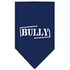 Mirage Pet Products Bully Screen Print Bandana Navy Blue Small