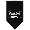 Mirage Pet Products Feeling Batty Screen Print Bandana Black Small