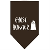 Mirage Pet Products Ghost Hunter Screen Print Bandana Cocoa Large