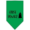 Mirage Pet Products Ghost Hunter Screen Print Bandana Emerald Green Large