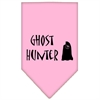 Mirage Pet Products Ghost Hunter Screen Print Bandana Light Pink Large