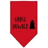 Mirage Pet Products Ghost Hunter Screen Print Bandana Red Large