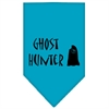 Mirage Pet Products Ghost Hunter Screen Print Bandana Turquoise Large