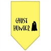 Mirage Pet Products Ghost Hunter Screen Print Bandana Yellow Large