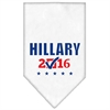 Mirage Pet Products Hillary Checkbox Election Screenprint Bandanas White Large