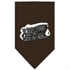 Mirage Pet Products My Kind Of Gas Screen Print Bandana Cocoa Small