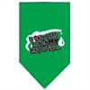 Mirage Pet Products My Kind Of Gas Screen Print Bandana Emerald Green Large