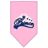 Mirage Pet Products I'm a Prince Screen Print Bandana Light Pink Small