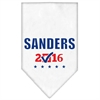 Mirage Pet Products Sanders Checkbox Election Screenprint Bandana White Large