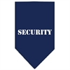 Mirage Pet Products Security  Screen Print Bandana Navy Blue Small