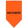 Mirage Pet Products Security  Screen Print Bandana Orange Large