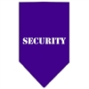 Mirage Pet Products Security  Screen Print Bandana Purple Large