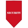 Mirage Pet Products Security  Screen Print Bandana Red Large