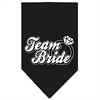 Mirage Pet Products Team Bride Screen Print Bandana Black Large