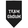 Mirage Pet Products Team Groom Screen Print Bandana Black Large