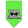 Mirage Pet Products Team Groom Screen Print Bandana Lime Green Small
