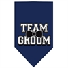 Mirage Pet Products Team Groom Screen Print Bandana Navy Blue Small