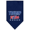 Mirage Pet Products Trump Checkbox Election Screenprint Bandana Navy Blue Small
