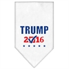 Mirage Pet Products Trump Checkbox Election Screenprint Bandana White Small